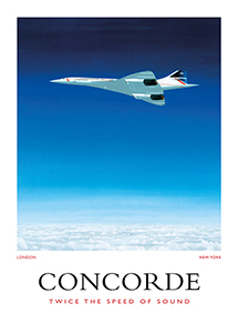 Concorde in the Big Blue collection