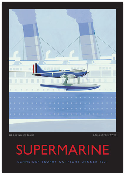 Supermarine, S6B Racing Seaplane